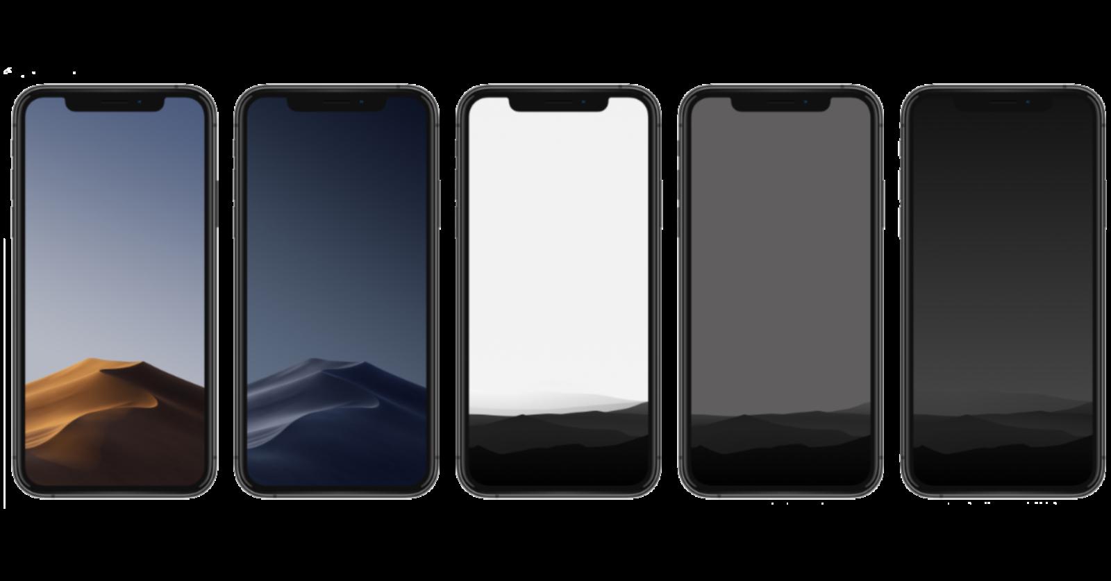 Домашние экраны iPhone, iPad и Mac