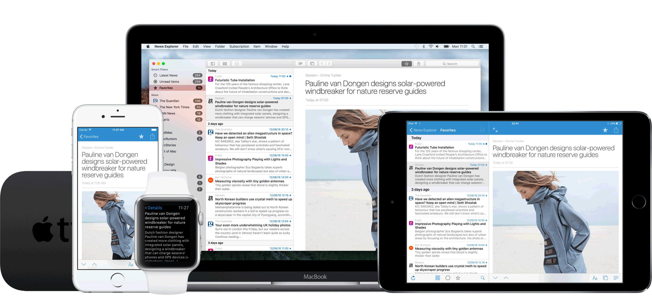Обзор News Explorer – моё любимое приложение для чтения новостей, блогов, сайтов на iPhone, iPad и Mac