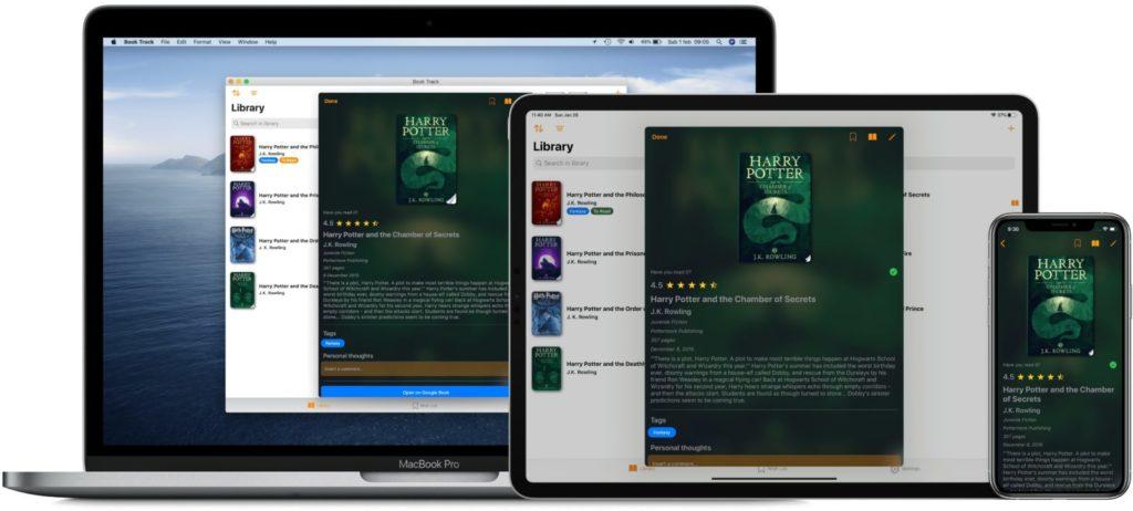 Book Track, iPhone, iPad, Mac, iOS
