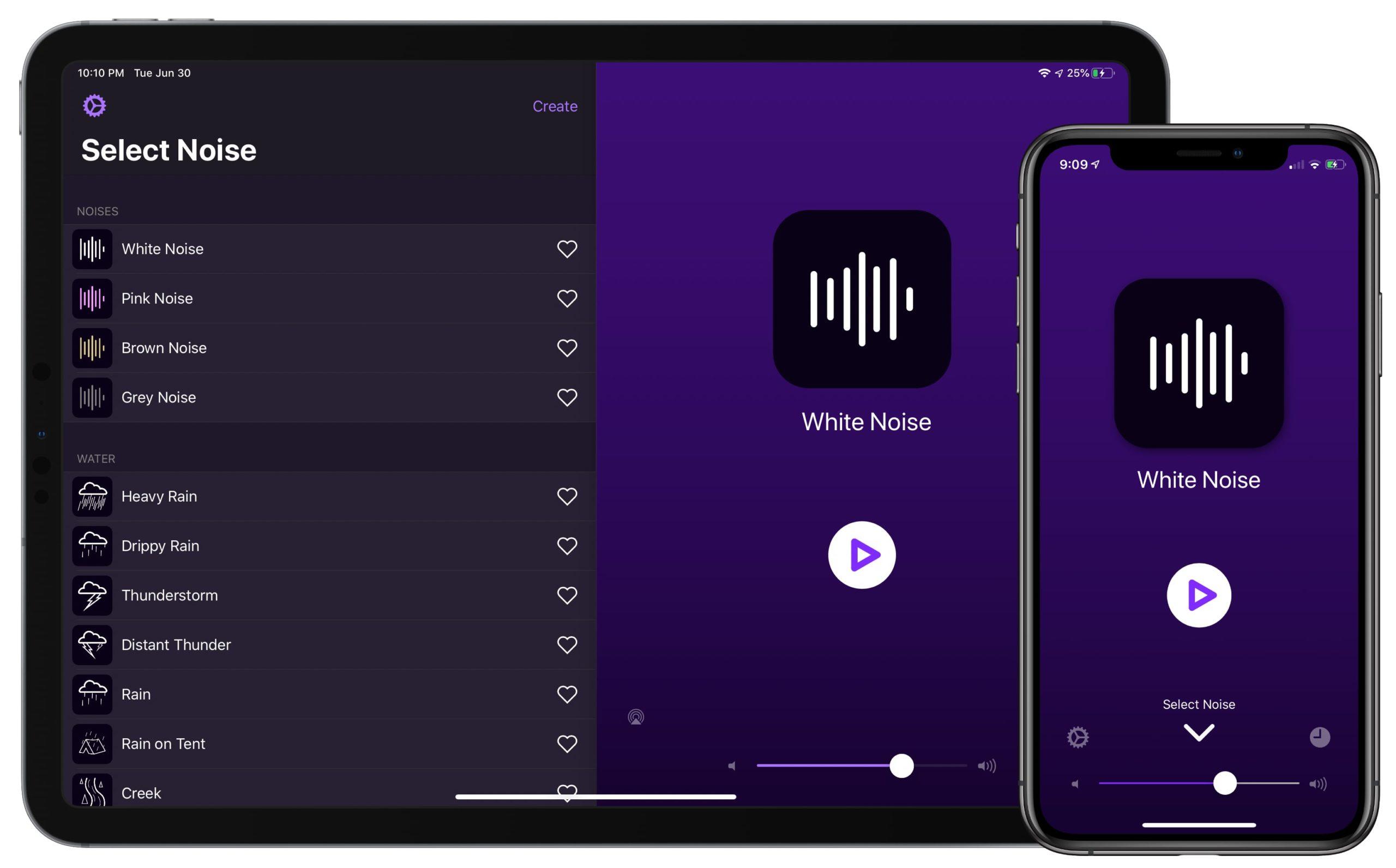 Dark Noise iPhone iPad